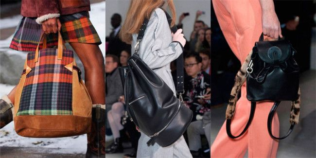 Fashion Handbags Fall-Winter 2014-2015: Backpacks