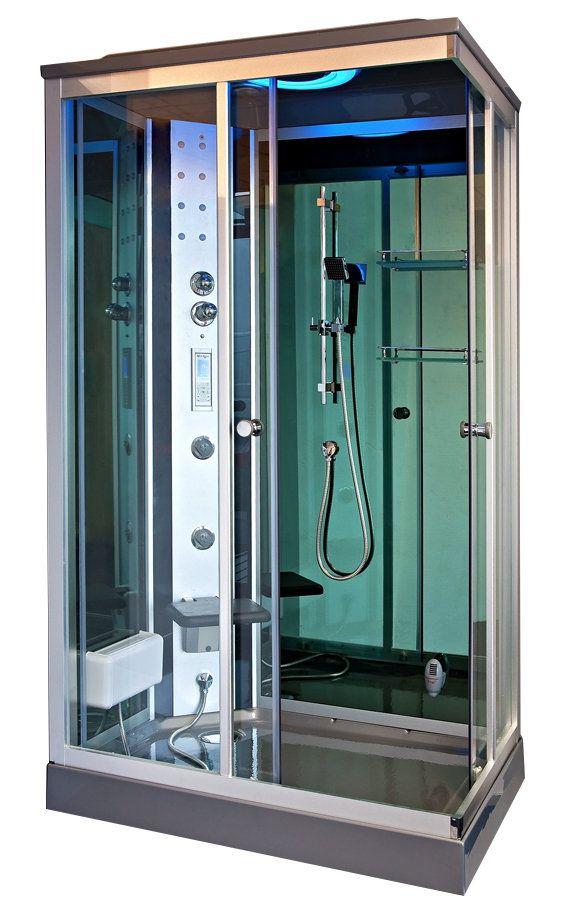 Box doccia idromassaggio Krystal 120x80: 1.259,00 €