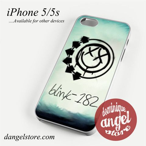 Blink 182 Logo 3 Phone case for iPhone 4/4s/5/5c/5s/6/6 plus