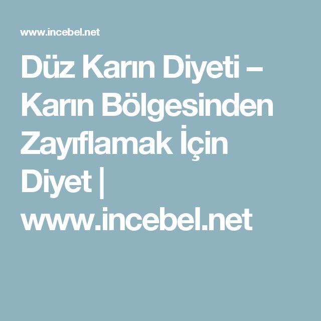 Düz Karın Diyeti – Karın Bölgesinden Zayıflamak İçin Diyet | www.incebel.net