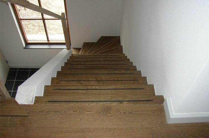 Betonnen trap bekleden gebroeders janssen stairs pinterest met - Mezzanine trap ...