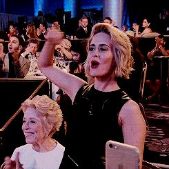 But seriously, keep the tweets coming. | Sarah Paulson And Holland Taylor Are Dating And It's Everything