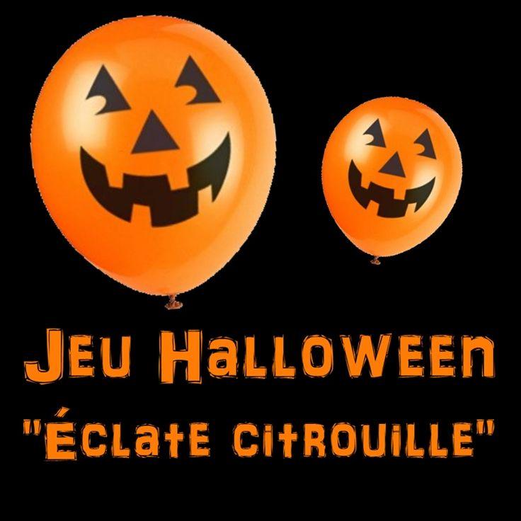 Voici un jeu enfant Halloween facile à mettre en place avec les enfants à  partir de 6 ans (vous pouvez aisément y jouer avec des enfants plus jeunes  mais c