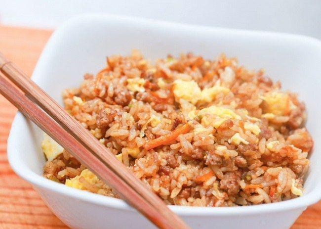 Жареный рис по-японски