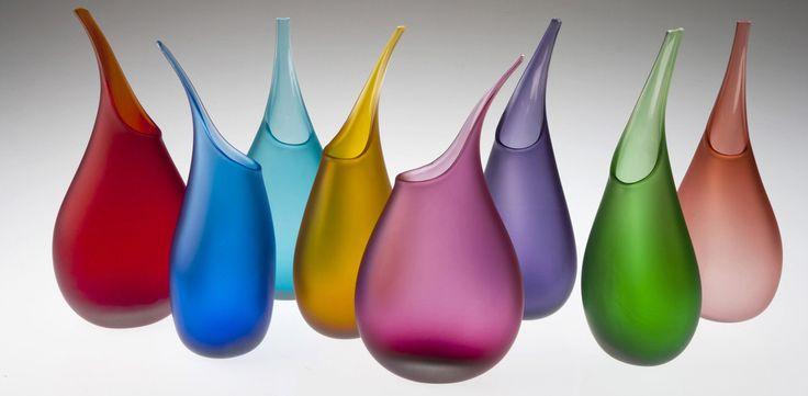 Pod Vases by Loco Glass www.locoglass.co.uk