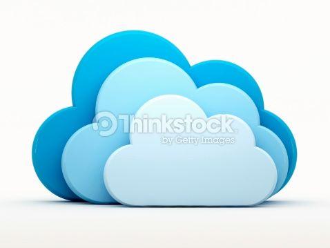 Stock-Foto : Blue clouds