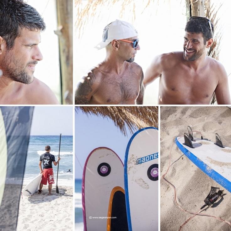 The Nalu Boys Surf School: Ikaria island