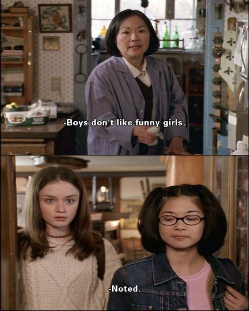Gilmore Girls - Funny girls #gilmore #girls