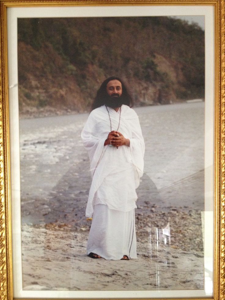 """Meet the extraordinary and most compelling spiritual figures in India, Sri Sri Ravi Shankar. Also called  Guruji or Gurudev, he founded The Art of Living Foundation to give way to his humanitarian efforts and to inspire people to become better versions of themselves. Not only is he a spiritual leader, he is also an author and an esteemed public speaker. """"The one purpose of everything that man created is happiness"""". Sri Sri Ravi Shankar http://thextraordinary.org/sri-sri-ravi-shankar"""