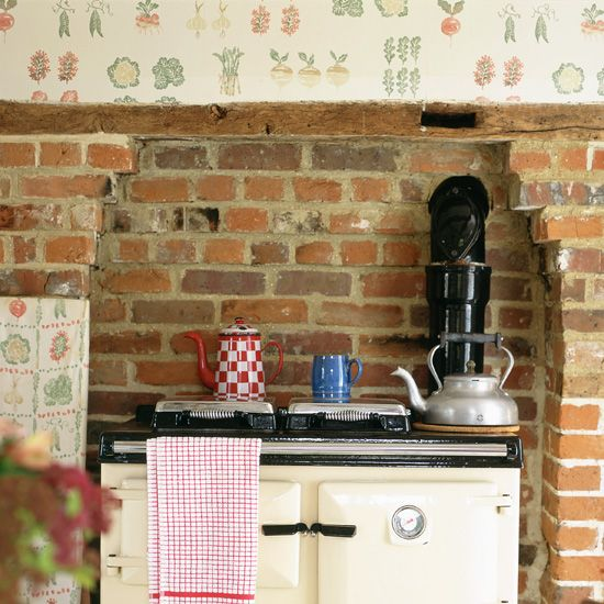 White Brick Wallpaper Kitchen: Best 25+ Exposed Brick Kitchen Ideas On Pinterest