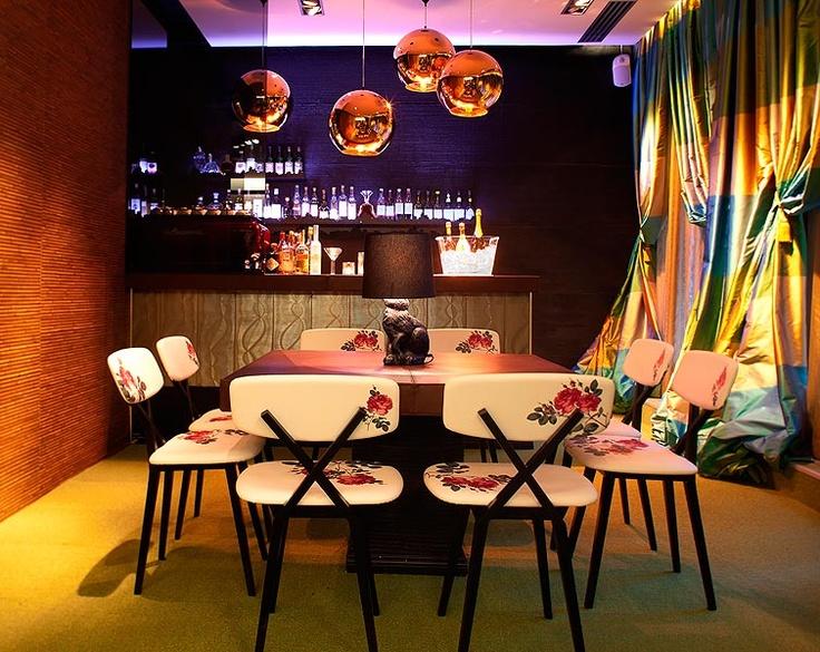 Chez Dominique bar interior, photo Anton Sucksdorff.