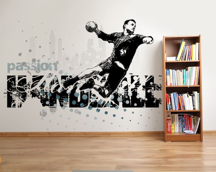 Wallpaper Sticker HANDBALL PASSION by Sticky!!!