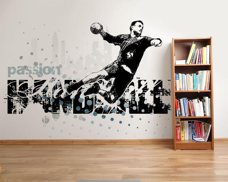 Wallpaper Sticker HANDBALL PASSION by Sticky!!!