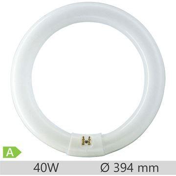 Tub fluorescent circular Philips MASTER TL-E Circular 40W/865, G10q, tub C-T9, 9000 ore, lumina rece, 872790084057500