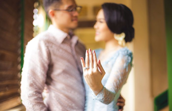 Dusty Blue Engagement Themed at Balai Sarwono - 22