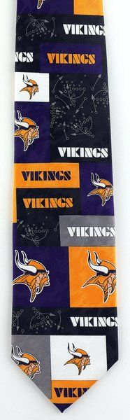NFL Minnesota Vikings Game Plan Tie | Ties Just For You