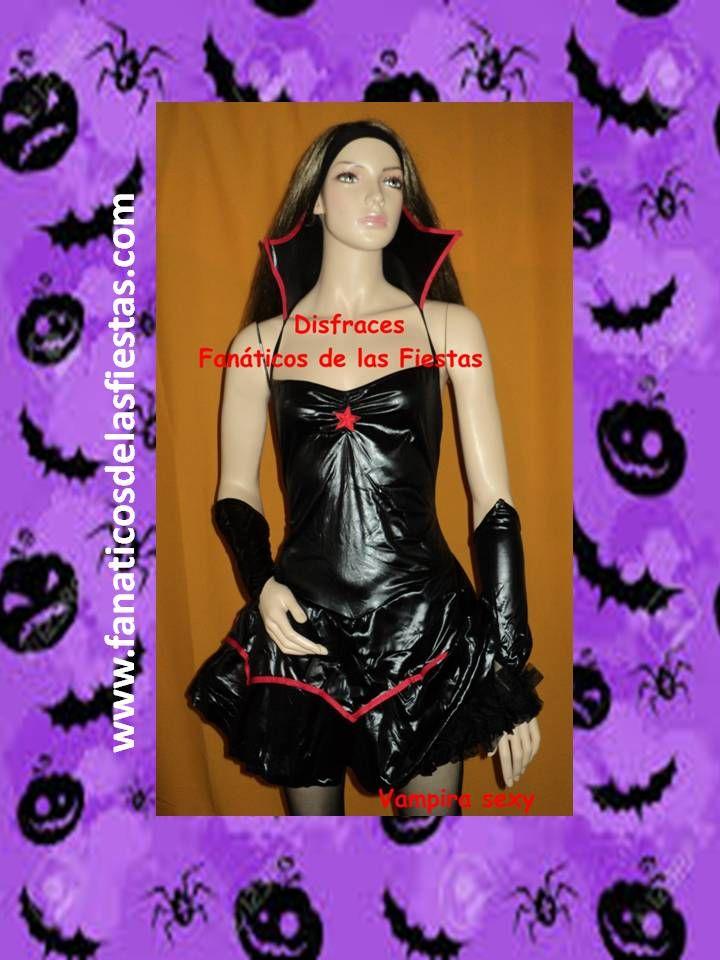 Disfraces de Vampira sexy , nuevos solo venta . Precio venta 19.000 pesos , enviamos a todo Chile.