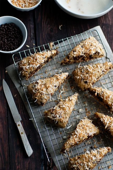 Post image for Chocolate Coconut Scones: Coconut Scones, Baking ...