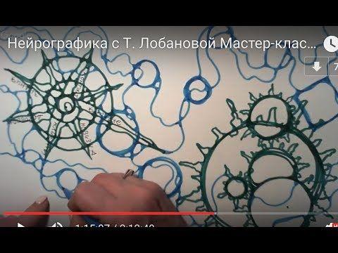 """Нейрографика с Т. Лобановой Мастер-класс """" От мечты к результату"""" - YouTube"""