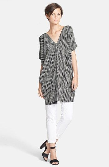 Vince Tunic Dress & Skinny Jeans | Nordstrom
