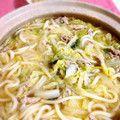 トロトロ白菜と豚肉の絶品うどん鍋 by まこりんとペン子