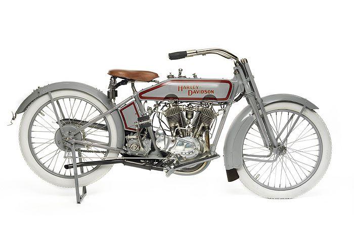 Harley Davidson: Harley Davidson,'Keystone', Racer, V-twin, 1916 United
