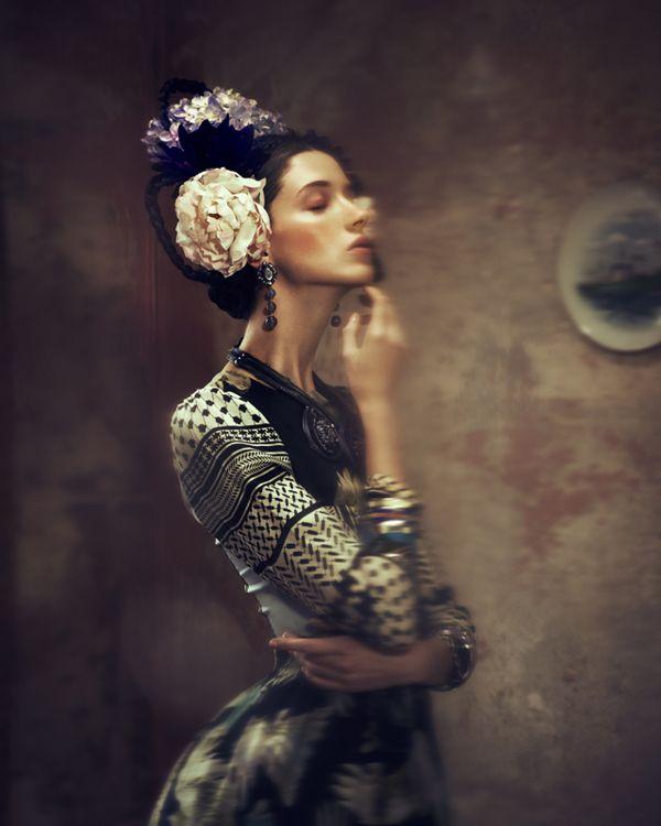 styling is by Yilmaz Aktepe Photography is by Elizaveta Porodina