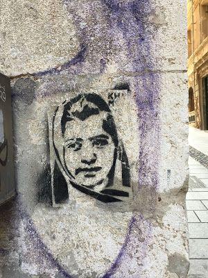 TravelMarx: A Sample of Cagliari Street Art - Stencil