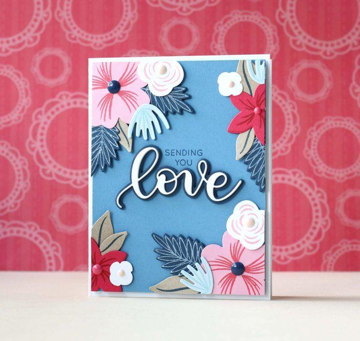 Amore Laura Fadora: Sending You Love - Simon Says Stamp Blog