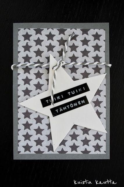 Kuistin kautta: Joulukalenteri 4/24: Joulukortti 2012
