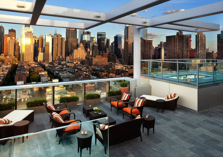 What is a boutique hotel rooftop terrace rooftop and ny usa for Top boutique hotels in nyc