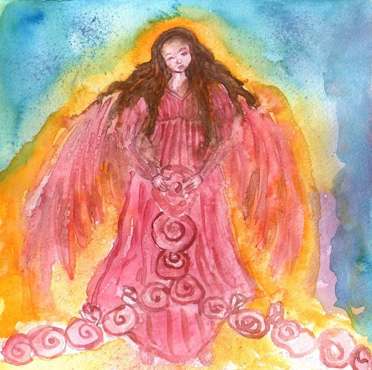 Ángel del amor verdadero