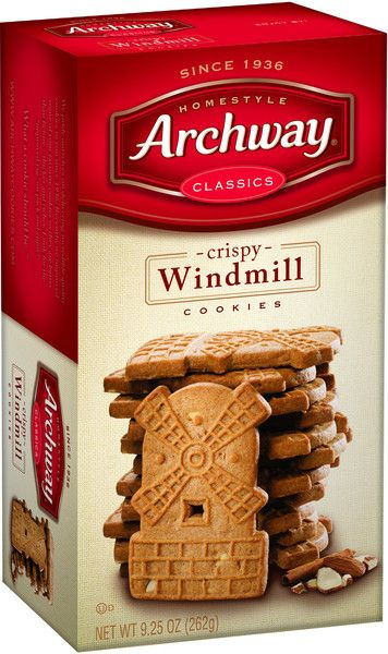 Old Fashioned Windmill Cookie