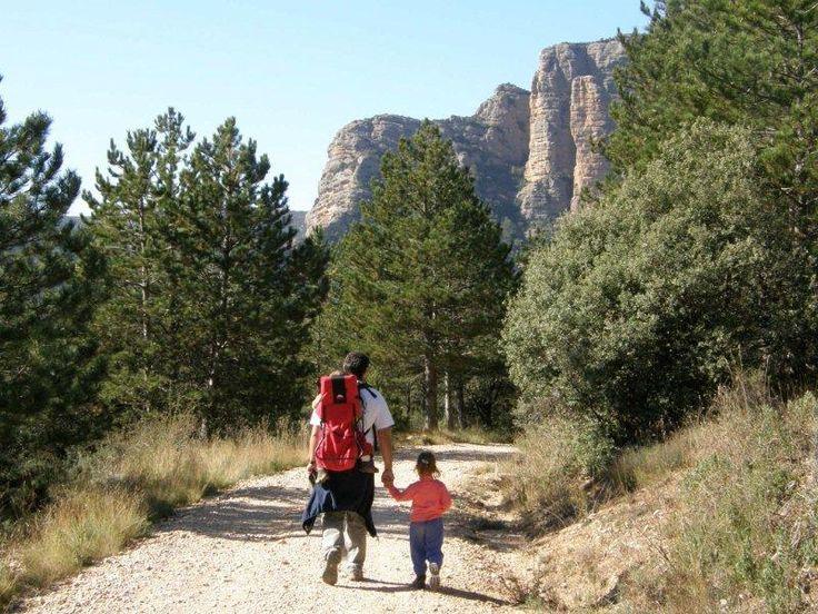 Hijos y padres de la mano para vivir una aventura que nunca olvidarán. Y con el deporte como bandera para superar tirolinas y pasarelas para todos, para un tranquilo paseo a caballo, para conocer la magia de Huesca.