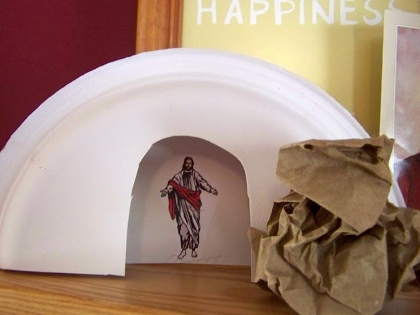 Jesus in the Tomb Craft | Children's Church | Pinterest ...