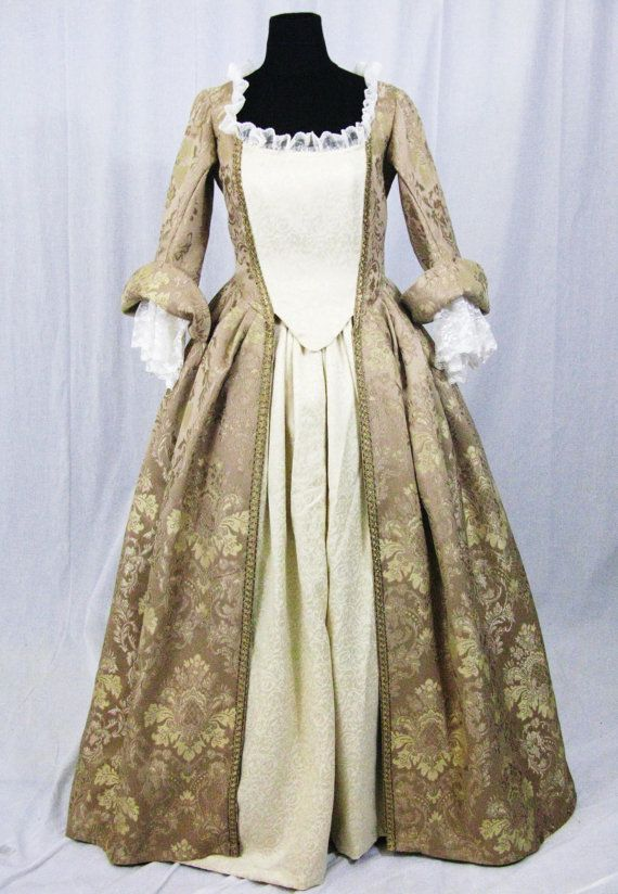 Elizabeth Swann Reproduction Gown Dress Costume by ISStore on Etsy