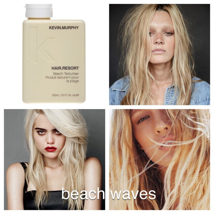 KEVIN.MURPHY HAIR.RESORT perfect for those people you know who are trying to achieve that effortless beach look. Available at Salon Haze Regina