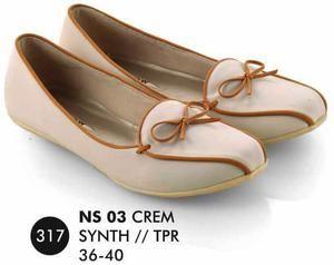 Sepatu Flat Wanita Casual Trendy [NS 03] (Brand Everflow) Free Ongkir