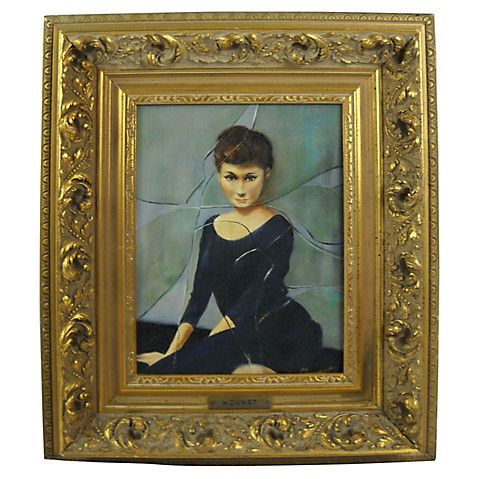 Woman in Black by Mounet $585.00