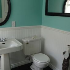 1000 images about bathroom remodel on pinterest black for 1940s bathroom decor