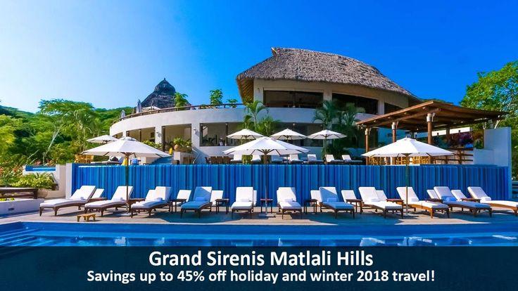 Grand Sirenis Matlali Hills - https://traveloni.com/vacation-deals/grand-sirenis-matlali-hills-2/ #puertovallarta #mexico #holidaytravel #wintertravel #traveloni