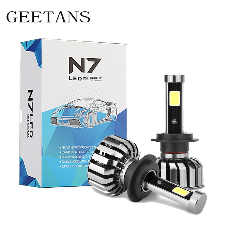 80W 8000LM 6000K H7 H4 HB5 HB4 9004/HB1 9007/HB5 COB LED Car Headlight Bulb Hi-Lo Beam Auto Headlamp 12v 24v fog lamp G