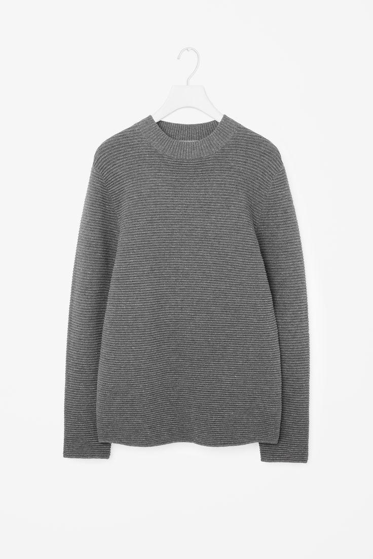 COS   Ripple-knit jumper