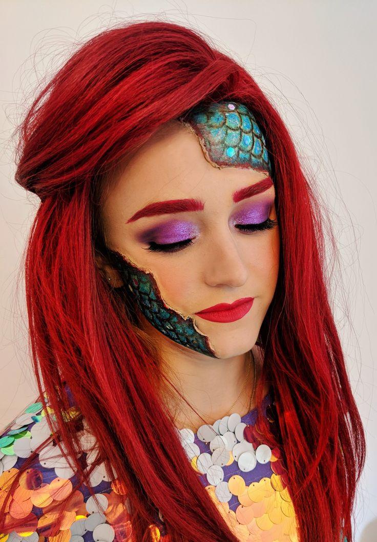 Halloween Makeup Ideas Mermaid Halloween Makeup