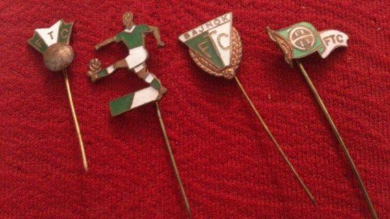 FC Ferencvaros Football Club Enamel Pins Vintage by PinsParadise
