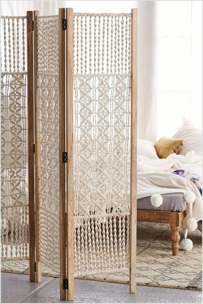 10 Cool DIY Room Divider Designs for Your Home 2