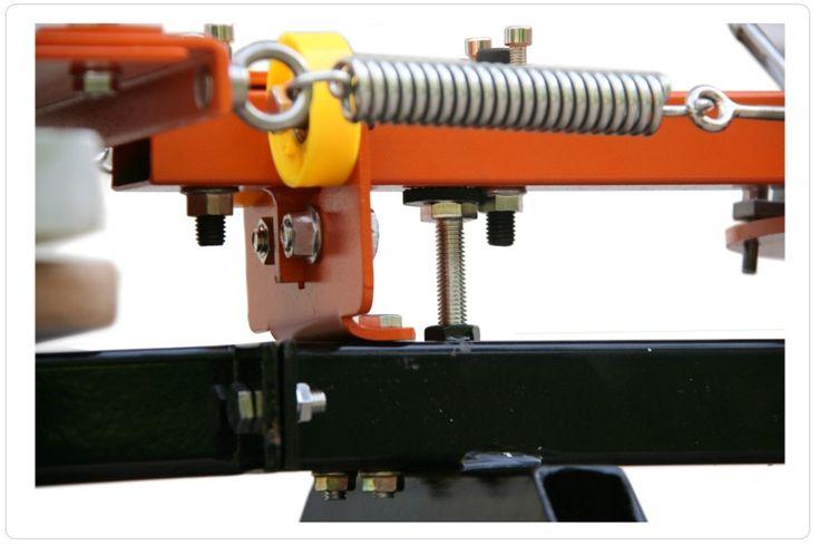 Carrusel de Serigrafía 6 Colores Máquina de Impresión textil