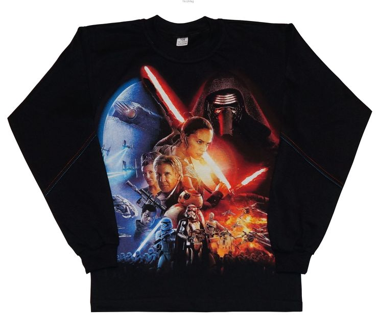 Bluzka Stars Jedi-chłopiec