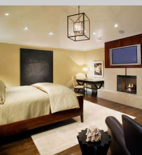 Some ideas for a combo rec room/guest bedroom