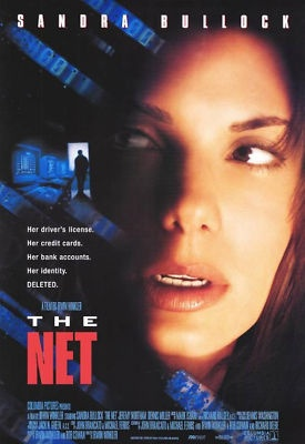 THE NET MOVIE POSTER 1 S...